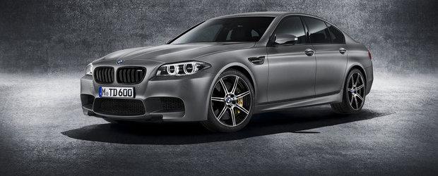BMW celebreaza 30 de ani de M5 cu cel mai puternic model lansat vreodata