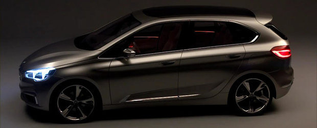 BMW Concept Active Tourer isi face aparitia in primele filme oficiale
