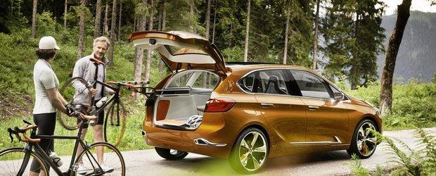 BMW Concept Active Tourer Outdoor, pentru pasionatii de plimbari in aer liber