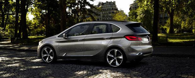 BMW Concept Active Tourer - Primul BMW cu tractiune fata din istorie