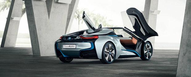 BMW confirma un X7, un i8 Spyder si o noua masina pe hidrogen