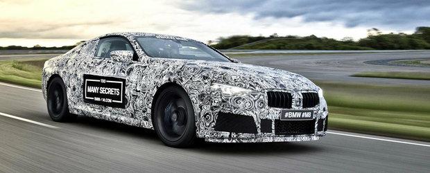 BMW confirma viitorul M8 si prezinta prototipul la cursa de 24h de la Nurburgring
