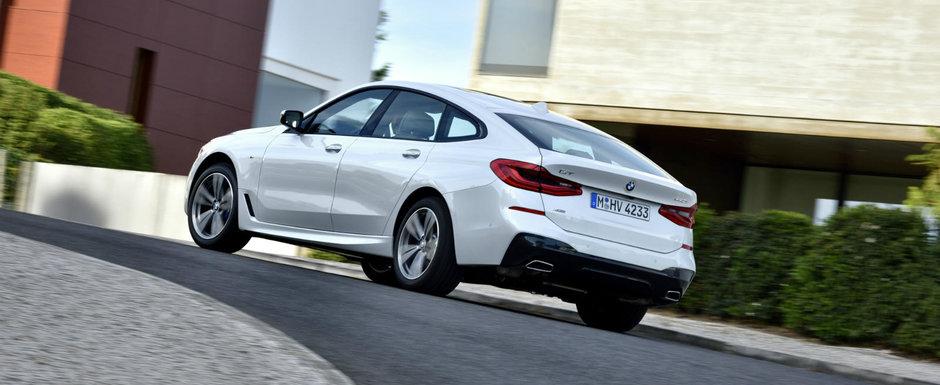 BMW considera noua Serie 6 GT o masina tare atragatoare, asa ca publica zeci de imagini proaspete cu exteriorul in cinci usi
