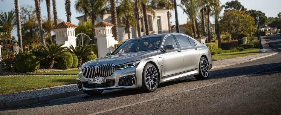 BMW crede ca noul Seria 7 este mai aratos decat un Mercedes S-Class si publica aceste imagini ca sa ne convinga si pe noi