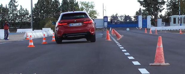 BMW, de la supravirare la subvirare. Cum se descurca noul Seria 1 cu tractiune fata la testul elanului