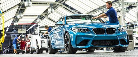 BMW demareaza productia noului M2 Coupe