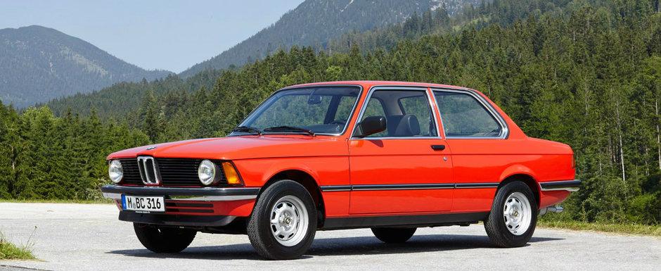 BMW desface sampania. Cel mai cunoscut model al companiei a implinit 45 de ani de la debut