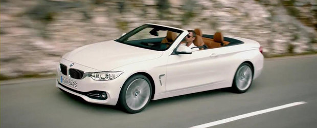 BMW detaliaza designul noului Seria 4 Convertible