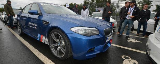 BMW dezvaluie noul M5 Ring Taxi