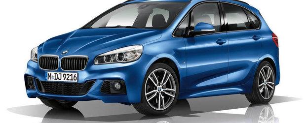 BMW dezvaluie noul Seria 2 Active Tourer cu pachet M Sport