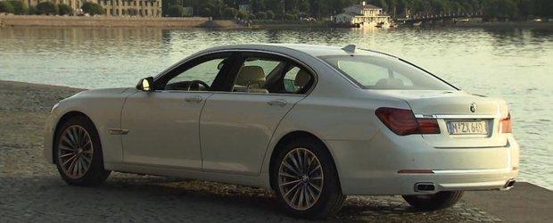 BMW duce nava amiral Seria 7 la St. Petersburg