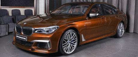 BMW duce rafinamentul la rang de arta cu acest Seria 7 finisat in nuanta Chestnut Bronze