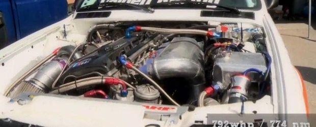BMW E30 ursulet de 800cp - pregateste-te sa te uzi!