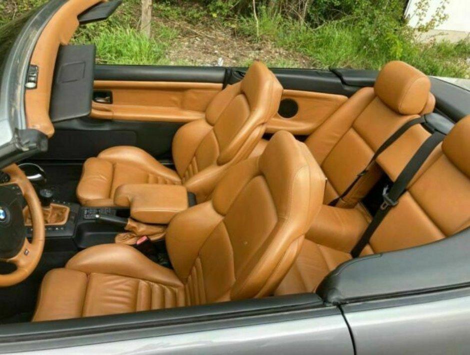 BMW E36 cu piese de E46