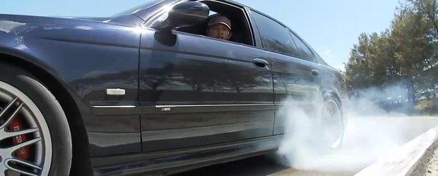 BMW E39 M5, masina ideala de drift
