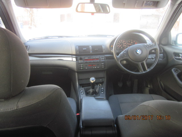 BMW E46 320d.