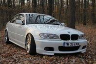 BMW E46 330 CI - Clean Tuning in alb si negru
