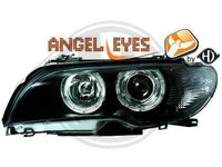 BMW E46 COUPE FACELIFT 2003 PLUS ANGEL EYES STOP LED GRILE NOI IMPORT GERMANIA