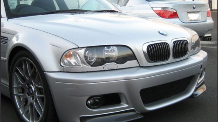 BMW E46 M3 CSL Carbon splitter