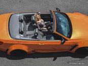 BMW E93 Orange Metalic Extra Wide by Predescu Rebel Custom & Foto Rocsana Marcu
