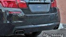 BMW F10 Difuzor bara spate M dark shadow  pentru e...