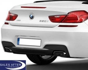 BMW  F12 seria 6 Cabrio Difuzor bara spate M dark shadow