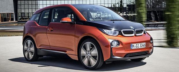 BMW i3: SUPER GALERIE FOTO cu primul BMW electric din istorie