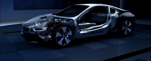 BMW i8: Cum au reusit bavarezii sa obtina o greutate cat mai scazuta