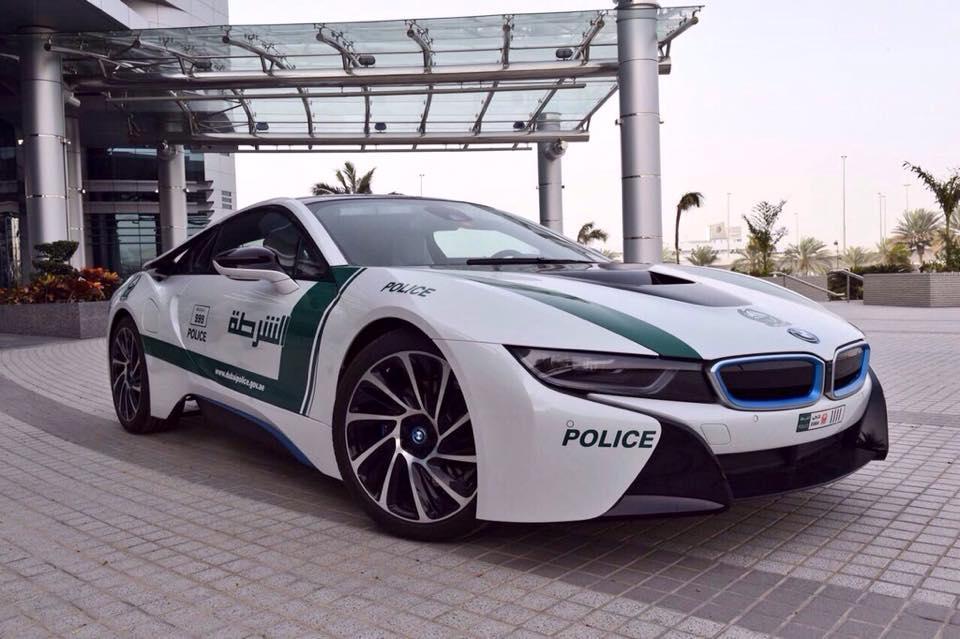 BMW i8 de politie - BMW i8 de politie