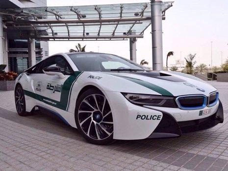 BMW i8 de politie