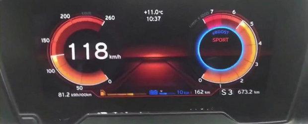BMW i8 in actiune: Cum arata ceasurile de bord, plus sunetul motorului