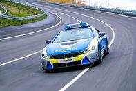 BMW i8 pentru politie