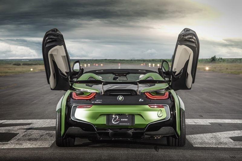 BMW i8 Roadster E.N Army
