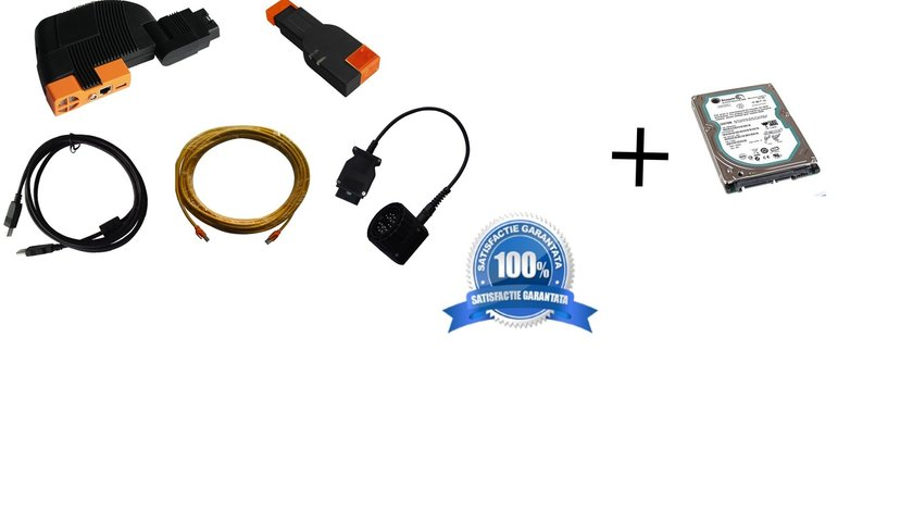 BMW ICOM tester reprezentanta + HDD cu soft