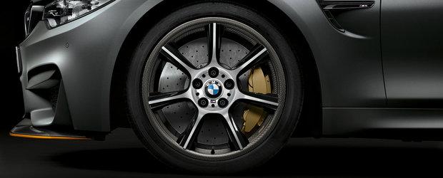 BMW impresioneaza din nou: lanseaza jantele de serie din fibra de carbon
