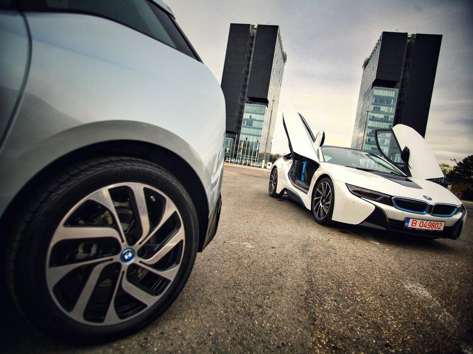 BMW incepe comercializarea in Romania a modelelor 'verzi' i3 si i8
