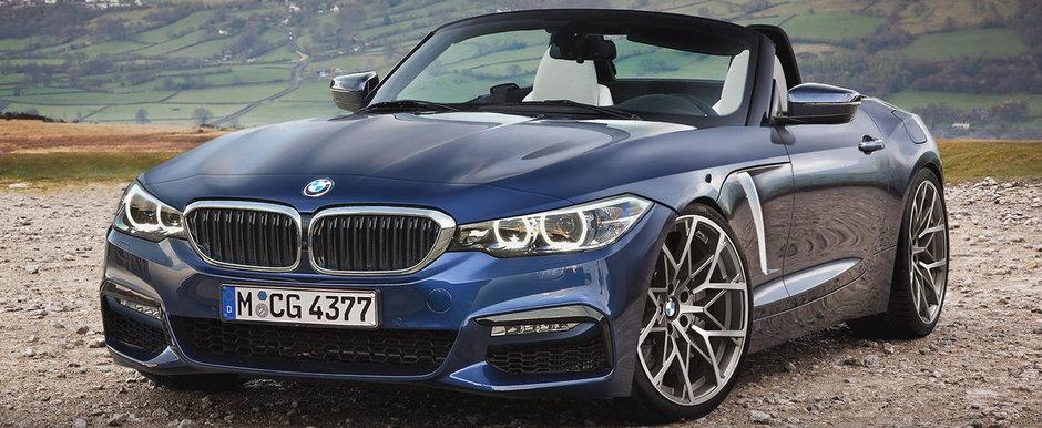 BMW intentioneaza sa lanseze conceptul noului Z4 la Concursul de Eleganta de la Pebble Beach