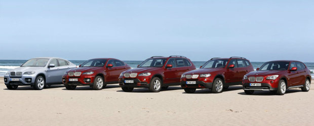BMW isi intregeste curand toata gama X de la X1 la X8 si chiar... X9