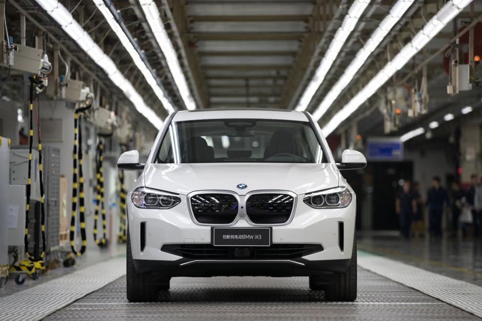BMW iX3 - Primul exemplar