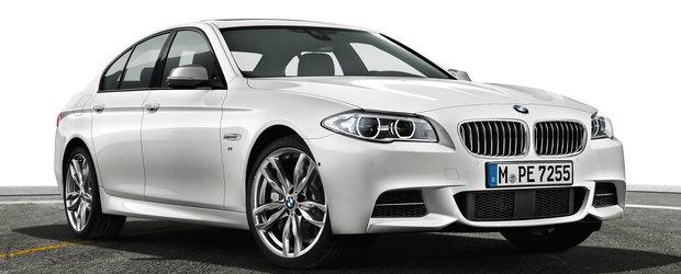 BMW lanseaza noul M550d in 2017 alaturi de cel mai puternic motor diesel din lume