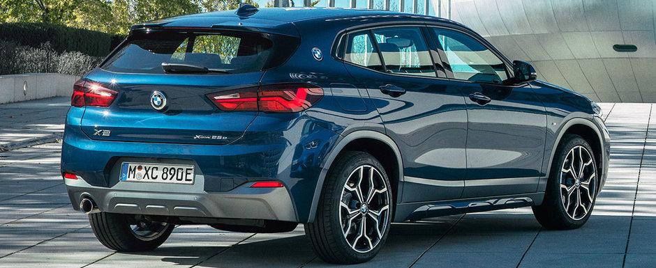 BMW lanseaza noul X2 xDrive25e. Versiunea plug-in hybrid parcurge 57 de km fara sa consume strop de benzina
