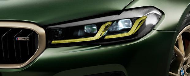 BMW lanseaza oficial noul M5 CS. Este cel mai puternic model de serie din istoria brandului