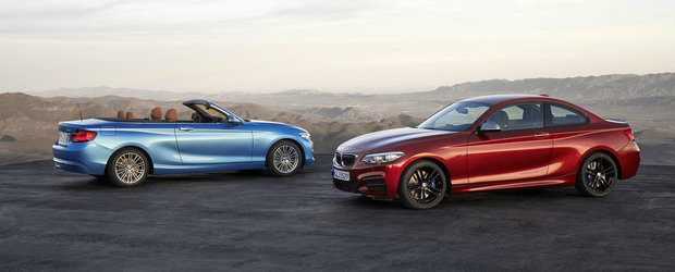 BMW lanseaza Seria 2 facelift, insa nimeni nu prea vede diferentele
