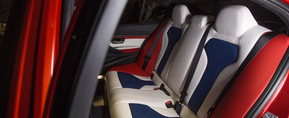 BMW lanseaza un steag american pe roti. Numele sau oficial este M3 30 Years American Edition