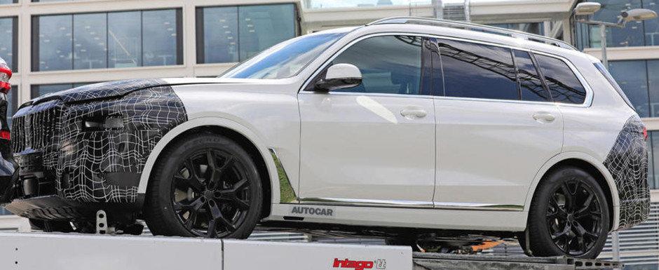 BMW lucreaza deja la un facelift pentru X7, la doar doi ani dupa ce actualul model a fost lansat pe piata. POZE SPION