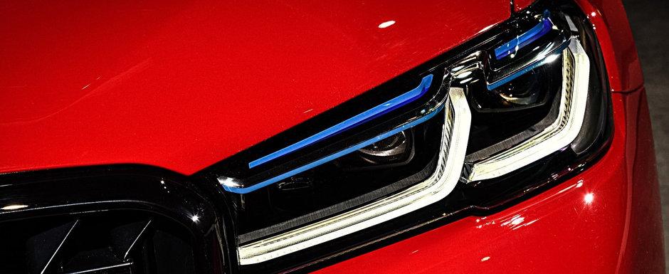 BMW lucreaza la un sedan cu mai multi cai decat orice masina vanduta de Audi si Mercedes zilele acestea