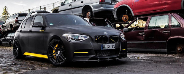BMW M135i by Manhart: Totul despre cum sa modifici ca la carte un BMW Seria 1