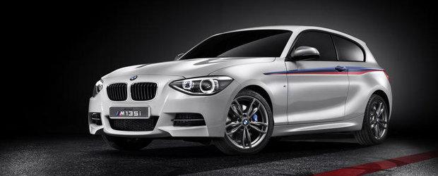 BMW M135i Concept - Turbo, peste 300 cai putere si-o caroserie de hot hatch