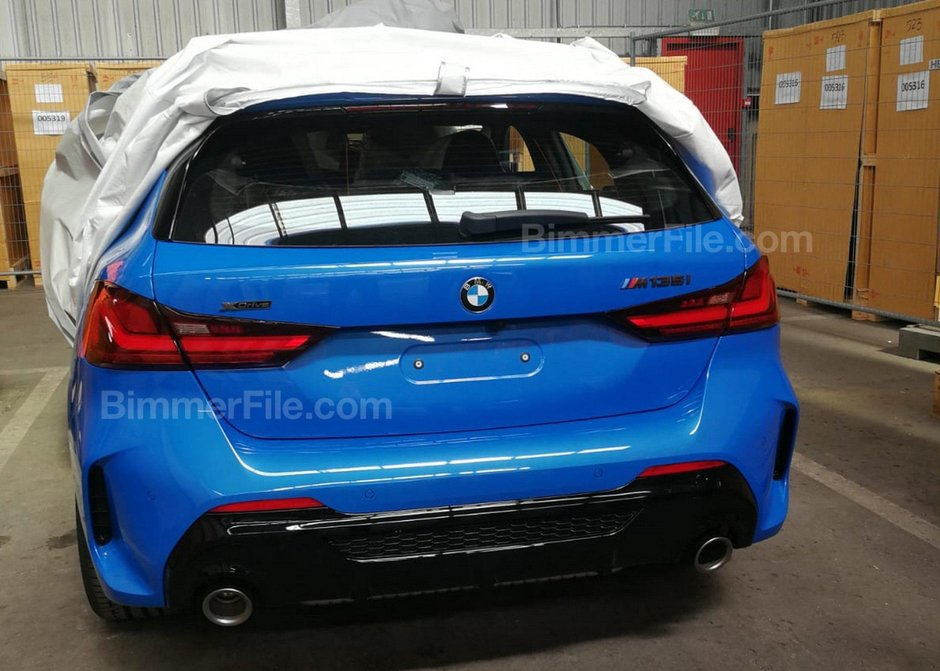BMW M135i xDrive - Primele poze