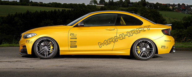 BMW M235i by Manhart Racing: Pentru strada, circuit si alte vise
